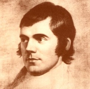 "Celebrate to the man who wrote ""Ode to a Haggis""."
