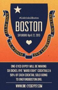 Drink AND Eat for Boston.