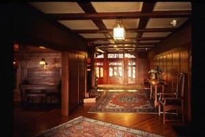 Visit the Gamble House entry hall at Museums of the Arroyo Day. (Courtesy of MOTA)