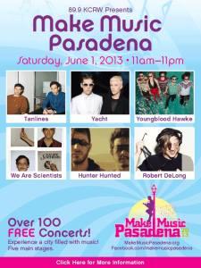 Make Music Pasadena 2013