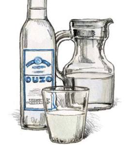 Ouzo or vodka lemonade at the L.A. Greek Fest  2013?