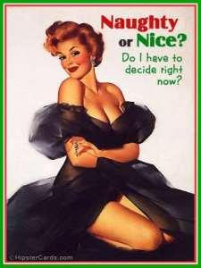 Sure...let Santa decide....