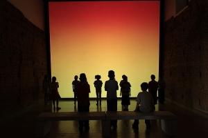 """Chromoteism""  2012 Lucia Koch  Christopher Grimes Gallery"
