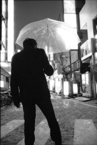 """""""Rain"""" from the exhibition """"Mysterious Barricades"""" by Andy Summers at Photo Independent Art Fair."""