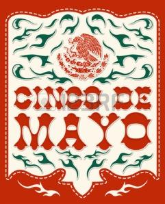 cinco de Mayo red & green