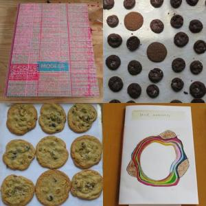 Artists' Books and Cookies at Ooga Booga.