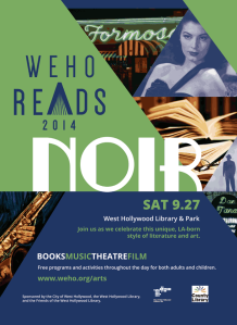 WeHo Reads: NOIR sizzles this Saturday.