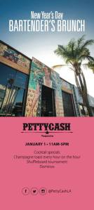 Petty Cash Taqueria NYE bartender's brunch