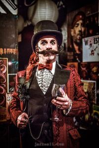 Vegas J Jenkins: your Edwardian Ball Host with the Most.