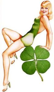 My what a big shamrock you have....