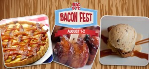 Bacon everything.  Plus beer. (Photos courtesy Big Bite Bacon Fest)