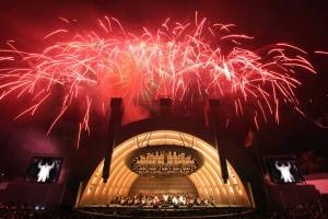 Fireworks at the Hollywood Bowl (photo courtesy Hollywood Bowl)