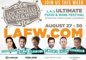 LA Food & Wine Fest 2015