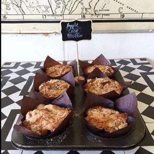 Bakers Will Bake: Apple Crisp Muffin by Christine Moore from Lincoln Pasadena