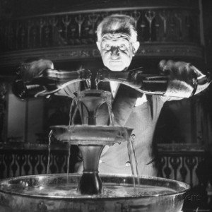Champagne fountain for fiends....