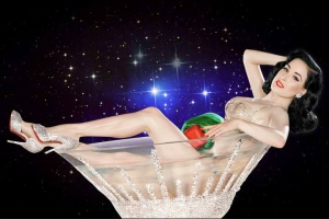 Dita Von Teese is the Grand Hostess of EVERYTHING!