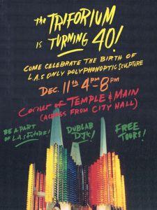 The Triforium turns 40 - let's party!