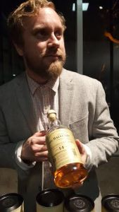 Whisky Associate Brian Summers offers The Balvenie 14 year old Caribbean Cask for perusal.