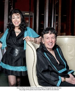 Marty & Elayne at the Dresden Room: 35 years of swinging.