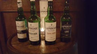 Laphroaig bottles