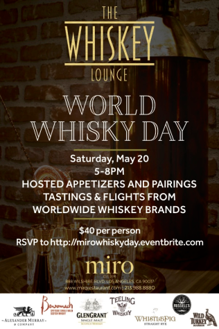 World Whisky Day at miro